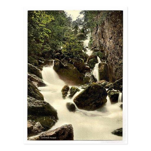 Derwentwater, Lodore Falls, Lake District, England Post Cards