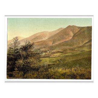 Derwentwater Skiddaw from Latrigg Lake District Post Card