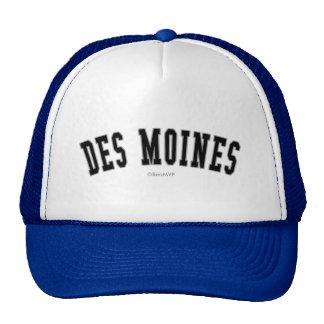 Des Moines Trucker Hats
