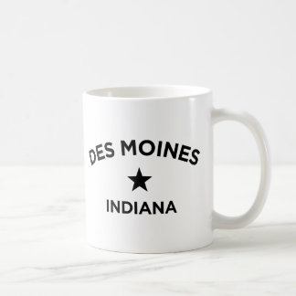 Des Moines Indiana Mug