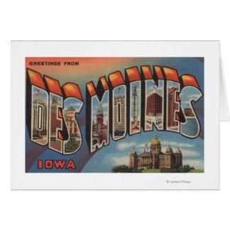 Des Moines, Iowa (Capital Building) Card