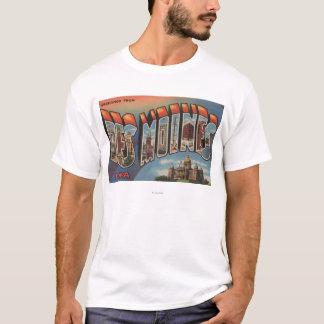 Des Moines, Iowa (Capital Building) T-Shirt