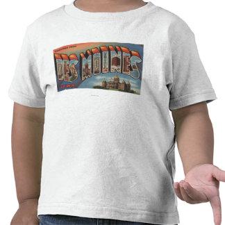 Des Moines, Iowa (Capital Building) Shirt