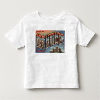 Des Moines, Iowa (Capital Building) Tshirt