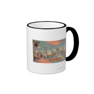 Des Moines Iowa Moose Head Coffee Mug