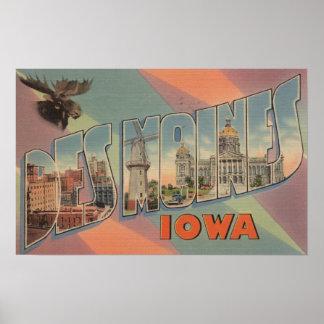 Des Moines, Iowa (Moose Head) Posters
