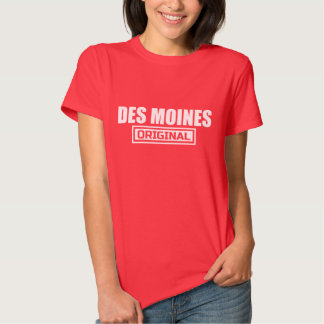 DES MOINES ORIGINAL GRAPHIC TEE