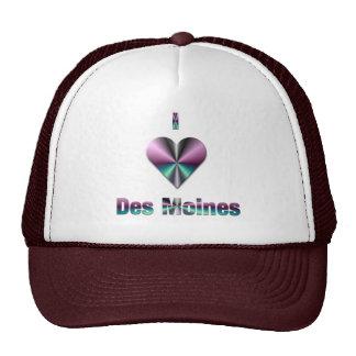 Des Moines -- Purple & Turquoise Hats