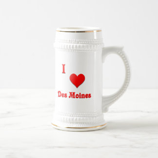 Des Moines -- Red Coffee Mugs