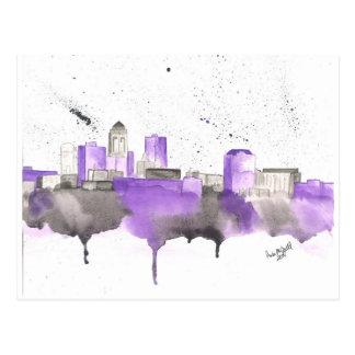 Des Moines Skyline Postcard