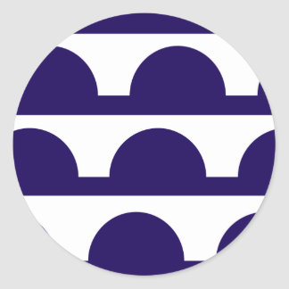 Des Moines, United States Round Sticker