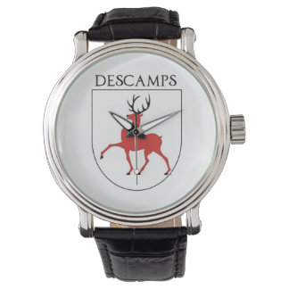 Descamps Family Coat of Arms Watch