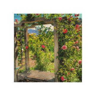 """Descanso Paradise Garden"" Wood Print"