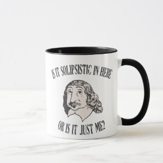 Descartes Solipsistic Mug