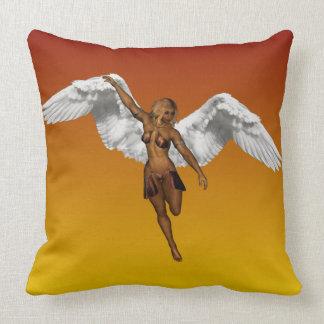 DESCENDING ANGEL v.2 ~ Throw Pillow