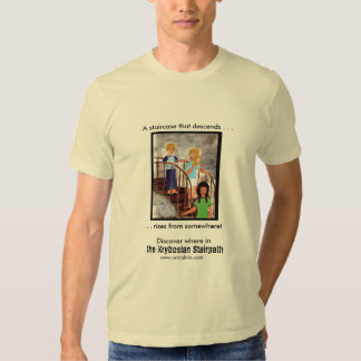 Descending the Stairpath II T-shirts