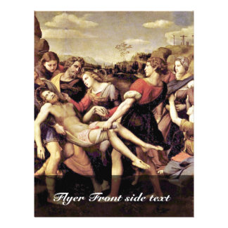 Descent From The Cross By Raffael (Best Quality) 21.5 Cm X 28 Cm Flyer