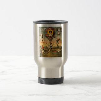 Descente d'Absalon par Miss Stena Vintage Circus 15 Oz Stainless Steel Travel Mug