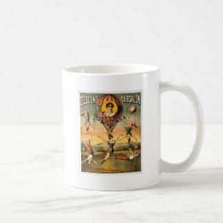 Descente d'Absalon par Miss Stena Vintage Circus Mug