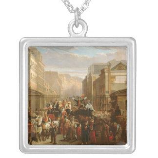 Descente de la Courtille', Belleville Silver Plated Necklace