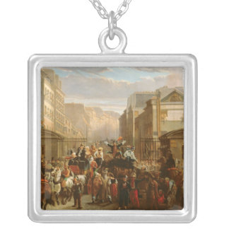 Descente de la Courtille', Belleville Square Pendant Necklace