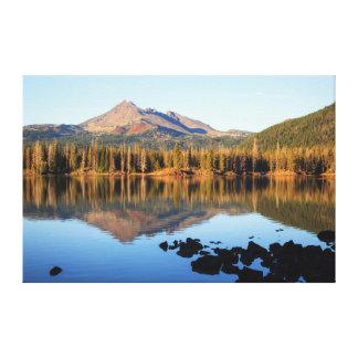 Deschutes National Forest, Sparks Lake Canvas Print