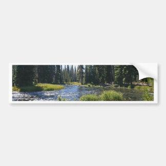Deschutes River at Little Lava Lake, Oregon Bumper Sticker