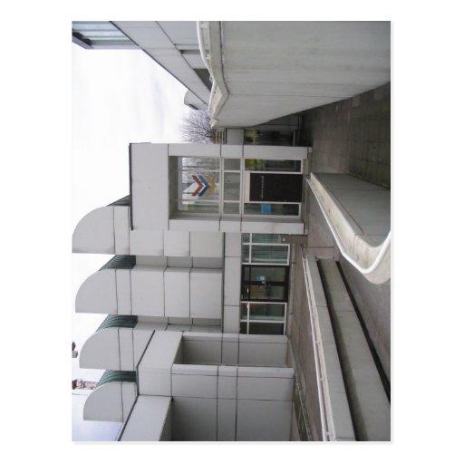 Description: Bauhaus Archiv Berlin - Haupteingang  Post Cards