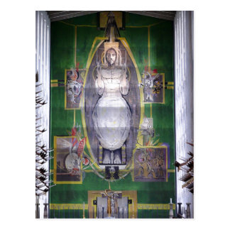 Description Christ in Glory, Graham Sutherland tap Postcard