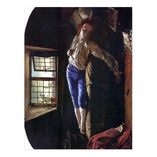 Description Description The Death of Chatterton He Post Card
