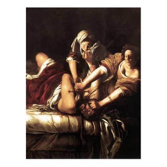 Description Judith Beheading Holofernes , Oil on c