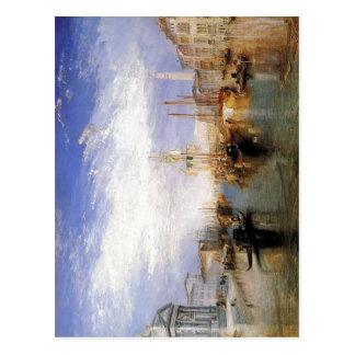 Description The Grand Canal - Venice by J. M. W. T Postcard