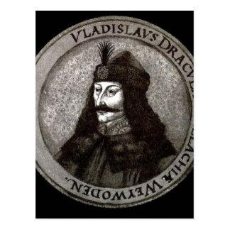 Description Vladislaus Dracula. S?ddeutscher Minia Postcard
