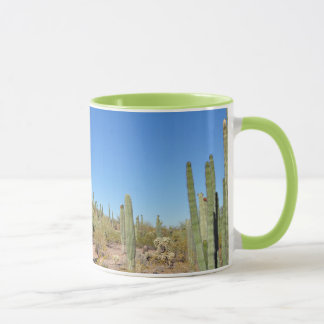 Desert and cactus print coffee mug