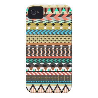 Desert Aztec Pattern iPhone 4 Case