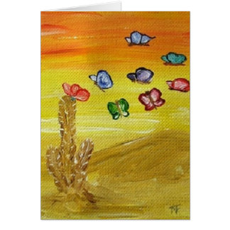 Desert Beauty - Greeting Card