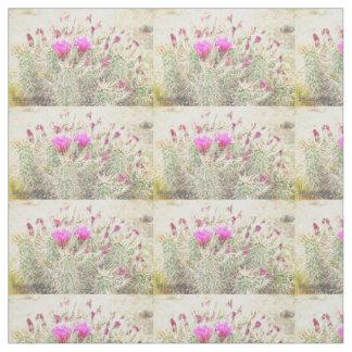 desert blooms fabric
