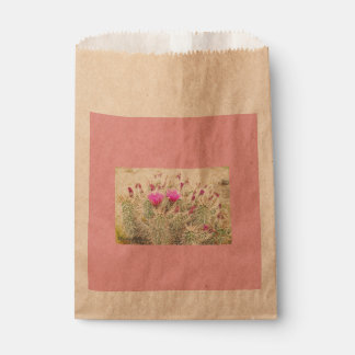 desert blooms favour bags