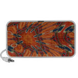 Desert Butterfly Abstract Doodle Mini Speakers