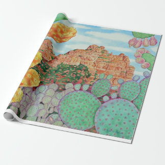 Desert Cacti Wrapping Paper