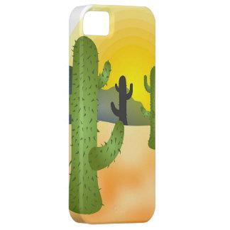 Desert Cactus iPhone 5 Cases