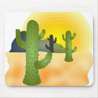 Desert Cactus Mouse Mat