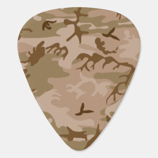 Desert Camo - Brown Camouflage Guitar Pick