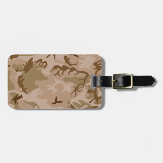 Desert Camo Luggage Tag