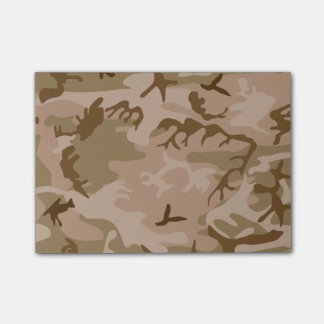 Desert Camo Post-it Notes