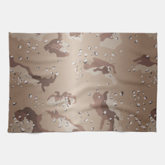 Desert Camo Tea Towel