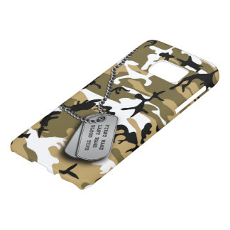 Desert Camo w/ Dog Tags