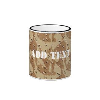 Desert Camouflage (1) Ringer Mug