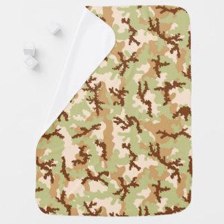 Desert camouflage baby blanket