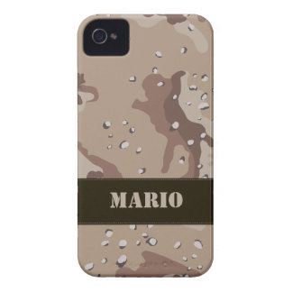 Desert Camouflage Barely There iPhone 4 Case